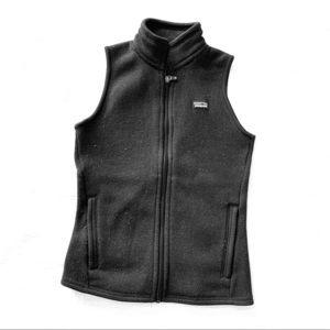 Patagonia Vest- Black Fleece Better Sweater